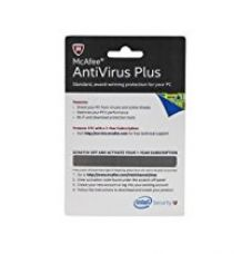 Buy McAfee Anti-Virus - 1 PC, 1 Year (Voucher) for Rs. 119