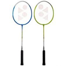 Yonex Gr 201 badminton Racquet, Pack Of 2 (Assorted) for Rs. 1,251