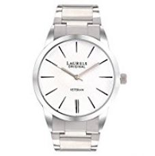 Buy Laurels Large Size Polo White Dial Men's Watch - Lo-Polo-101 from Amazon