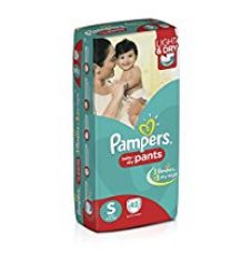Pampers Small Size Diaper Pants (42 Count) for Rs. 499