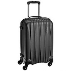 Buy American Tourister Polycarbonate 55 cms Gun Metal Carry On (38W (0) 58 001) from Amazon