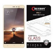 Chevron Tempered Glass Screen Protector For Xiaomi Redmi Note 3/ Redmi Note 3 Prime/ Redmi Note 3 Pro for Rs. 299