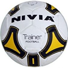 Nivia Dynamic Synthetic Trainer Football, Size 5 (Multicolor) for Rs. 550