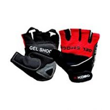 Kobo WTG-04 Cotton Gym Gloves, Large (Red/Black) for Rs. 549