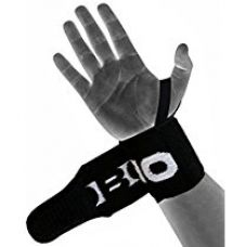 Kobo WTA-04 Power Cotton Gym Support with Thumb Support (Black) for Rs. 300