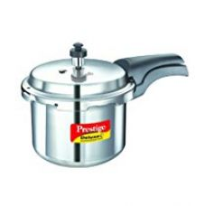 Prestige Deluxe Plus Induction Base Aluminium Pressure Cooker, 3 Litres for Rs. 1,197