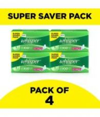 Buy Whisper Ultra Clean XL Wings Sanitary Pads 30 Pcs - Pack of 4 for Rs. 949