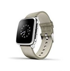 Pebble Technology Corp Time Steel 511-00023 Smartwatch (Silver) for Rs. 16,755