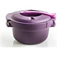 Tupperware Blossom Bowl 550 ml (2 Pieces) with free tupperware green baby spoon for Rs. 455