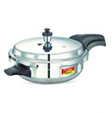 Buy Prestige Deluxe Plus Induction Base Junior Pan Aluminium Pressure Cooker, 3 Litres, Silver from Amazon