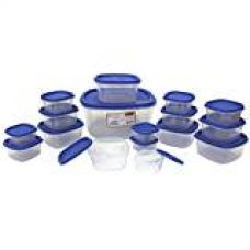 Buy Princeware SF Pak Container Set, 17-Pieces, Blue from Amazon