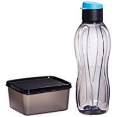 Tupperware Xtreme Set, Bottle and Box for Travellers (Multicolor) for Rs. 286