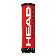 Buy Head Championship Tennis Balls (Pack of 3) from Amazon