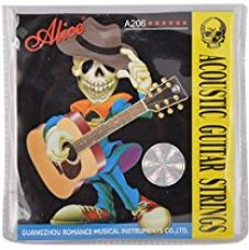 Alice A206 Phosphor Bronze Guitar Strings (Pack of 1) for Rs. 142