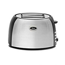 Oster TSSTJC5BBK 800-Watt 2-Slice Pop-up Toaster (Black/Steel Finish) for Rs. 1,799