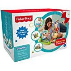 Buy Fisher-Price 4in1 Baby's First Essentials Kit with Kick N Play Gym, Booster Seat, Bouncer and Bedding Set from Amazon