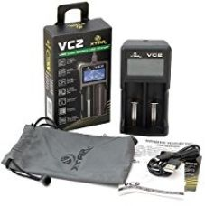 Xtar VC2 Li-Ion Battery Charger Features an innovative tachometer-style LCD display screen. lithium-ion battery charger that features an innovative tachometer-style LCD display screen. compatible with both IMR lithium batteries and small capacity batteries. Applies to: 10440/14500/14650/16340/17500/17670/18350/18500/18650/18700/22650/25500/26650 3.6/3.7V Li-ion batteries for Rs. 1,400