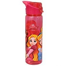 Buy Disney Princess Sipper Bottle / Water Bottle with adjustable handle, 750ml, Multi Color from Amazon