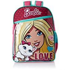 Buy Barbie Pink and Turquoise Children's Backpack (Age group :8-12 yrs) from Amazon