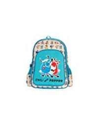 Genius Limited Edition Polyester 41 cms Beige and Blue Children's Backpack for Rs. 897
