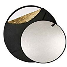 Buy 42inches - 107cm 5 in 1 Light Mulit Collapsible Disc Panel Reflector for Photography … from Amazon