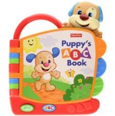Buy Fisher Price Laugh and Learn Puppy's ABC Book, Multi Color from Amazon