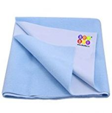 Buy Bey Bee Quick Dry Baby Bed Protector Waterproof Sheet Reusable Underpads Crib Sheet Bassinet (Blue) {Small} {70Cm X 50Cm} (0-4 Months) from Amazon