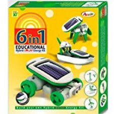Annie 6 - in - 1 Educational Hybrid Solar E Kit Series 1, Multi Color for Rs. 345