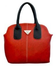 Buy Lady Queen Red Faux Leather Shoulder Bag for Rs. 649