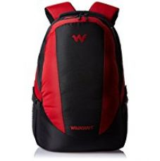 Buy Wildcraft Nylon 29 Ltrs Red Laptop Bag (Trident 2_Red) from Amazon