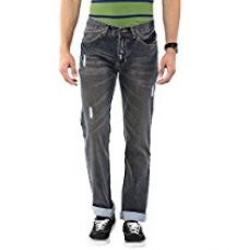 American Crew Men's Dark Blue Straight Fit Jeans - 32 (ACJN137-32) for Rs. 899