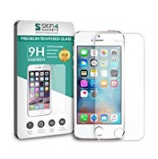 Buy Apple iPhone SE Tempered Glass Screen Guard Protector Ultra Strong (9H)-Slim by Skin4Gadgets with Gift Card of Rs.200 from Amazon