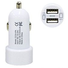 Buy AMEZDual USB Port 2 USB Port Micro Car Charger For Android / Windows, Power Bank and Samsung, Nokia, LG, Micromax, Sony and HTC Phones from Amazon