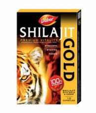 Buy Dabur Shilajit Gold 10 Caps (Pack of 5) for Rs. 819
