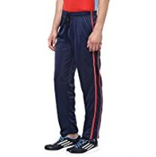 American Crew Men's Trackpant Navy Blue With Red Stripes & White Piping -L (AL077-L) for Rs. 499