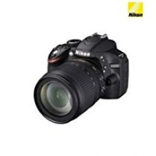Buy Nikon D3200 24.2MP Digital SLR Camera (Black) with 18-105mm VR II Kit Lens, 8GB Card and Camera Bag from Amazon