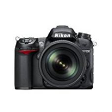 Nikon D7000 16.2MP Digital SLR Camera (Black) + AF-S 18-105mm VR II Kit Lens + Card + Camera Bag for Rs. 54,500