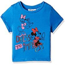 Buy Disney Minnie Mouse Girls' T-Shirt from Amazon
