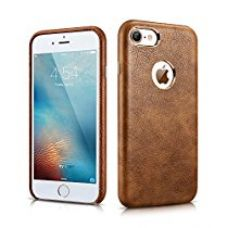 Buy MTT Apple iPhone 7 Premium Leather Back Cover Case (Brown) from Amazon