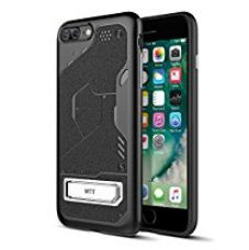 MTT Apple iPhone 7 Plus Shock Proof Rugged Armor Case (BLACKwSTAND) for Rs. 349