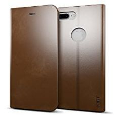 MTT Premium Leather Flip Wallet Case with Card Slot for Apple iPhone 7 Plus (Brown) for Rs. 699