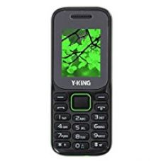 Y-King Y20 1.77 inch TFT Display Dual SIM GSM + GSM Camera Music FM Mobile Phone keypad simple basic feature (Black & Green) for Rs. 600