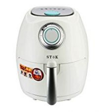 Buy SToK Air Fryer 2.6 Litre 1350-Watt with Smart Rapid Air Technology & Double Layer Grill for Fry, Grill, Bake & Roast- ST-AF01 -(Red) from Amazon