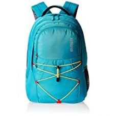 Buy American Tourister 23 Ltrs Turquoise Blue Laptop Bag (ZAP 2016) from Amazon