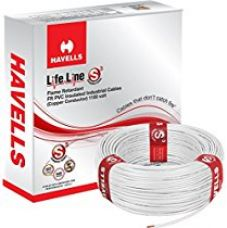 Buy Havells Lifeline Cable WHFFDNWA11X5 1.5 sq mm Wire (White) from Amazon