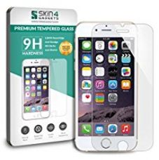 Buy Apple iPhone 7 Tempered Glass Screen Guard Protector Ultra Strong (9H)-Slim by Skin4Gadgets with Gift Card of Rs.200 from Amazon