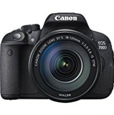Buy Canon EOS 700D 18MP Digital SLR Camera (Black) with 18-135mm STM Lens and Memory Card and Camera Bag from Amazon
