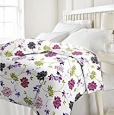 Buy eCraftIndia 220 TC Polycotton Single Blanket - Floral, Multicolour from Amazon