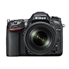Nikon D7100 24.1MP Digital SLR Camera (Black) with AF-S 18-105mm VR Lens, Card and Camera bag with 8GB class10 card FREE D-SLR Tutoria DVD for Rs. 70,900