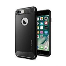 Buy Spigen Rugged Armor Case for iPhone 7 Plus Black 043CS20485 from Amazon